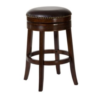 Hillsdale Furniture Tillman Brown Cherry Swivel Counter Stool