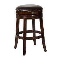 Hillsdale Furniture Tillman Brown Cherry Swivel Bar Stool