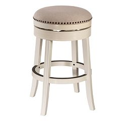 Hillsdale Furniture Tillman White Swivel Bar Stool