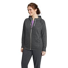 Plus Size Champion Hooded French Terry Jacket