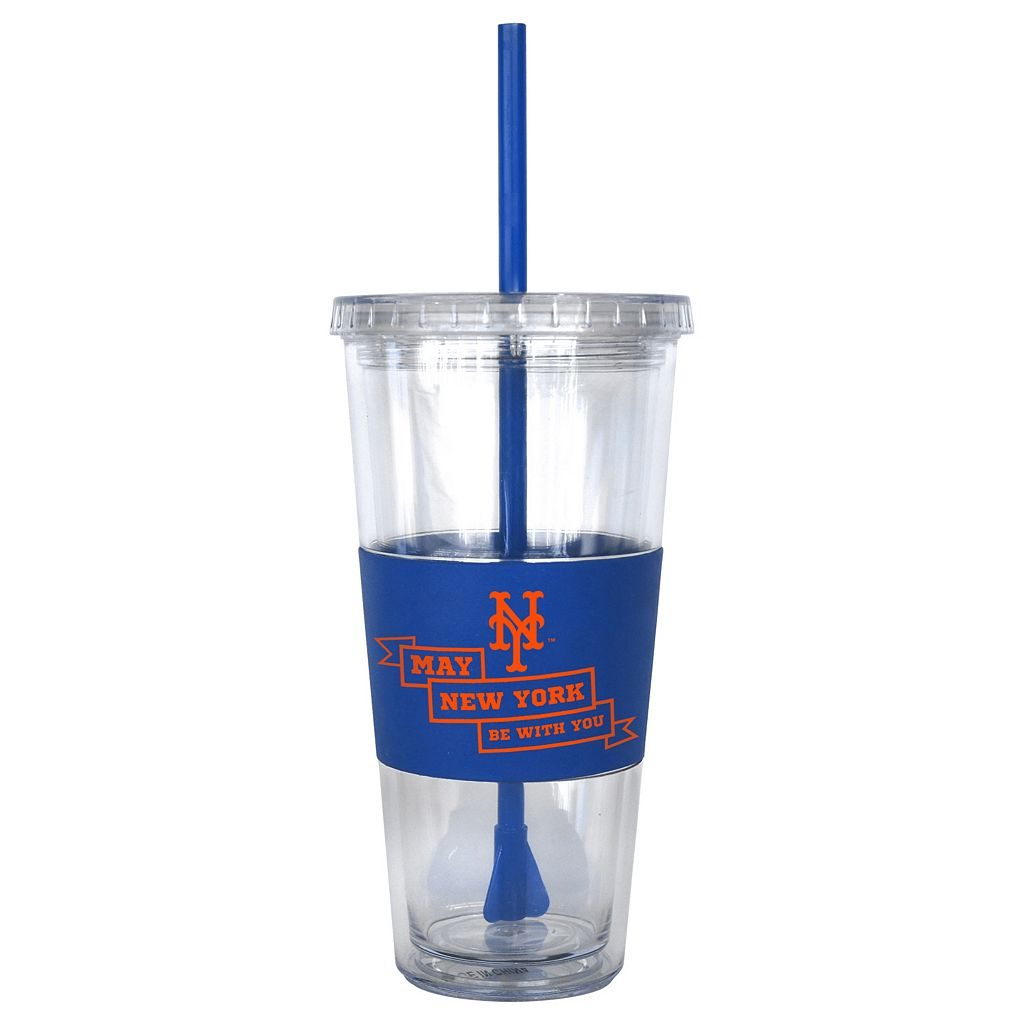 Boelter New York Mets Star Wars Stormtrooper Straw Tumbler
