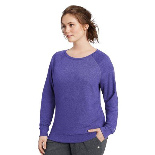 Plus Size Champion French Terry Crewneck Sweatshirt