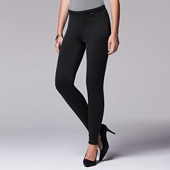 Simply Vera Vera Wang Fleece-Lined Leggings