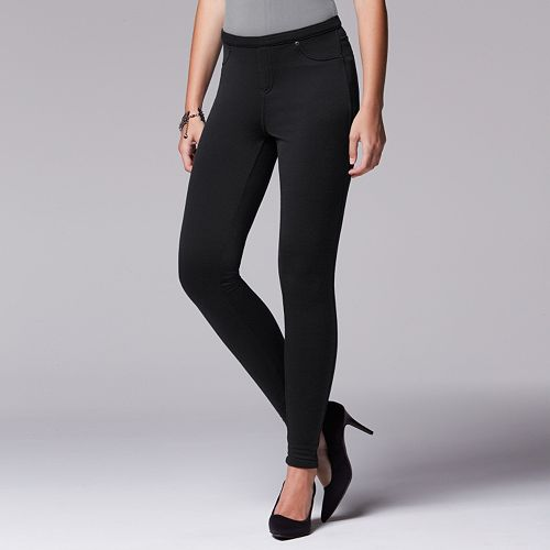 quality first laest technology shoes for cheap Simply Vera Vera Wang Fleece-Lined Leggings