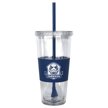 Boelter New York Yankees Star Wars Stormtrooper Straw Tumbler