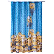 Minions Mayhem Shower Curtain