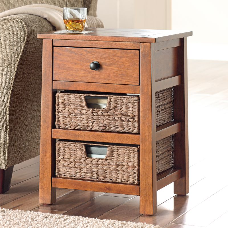 SONOMA Goods for Life Cameron End Table, Brown