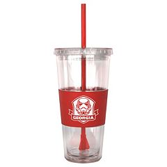 Boelter Georgia Bulldogs Star Wars Stormtrooper Straw Tumbler