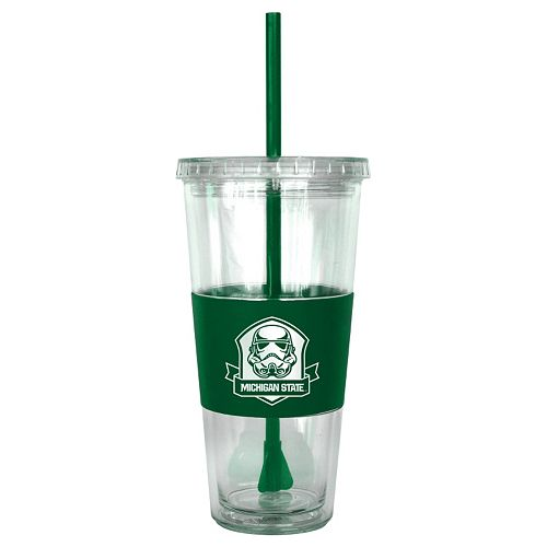Boelter Michigan State Spartans Star Wars Stormtrooper Straw Tumbler