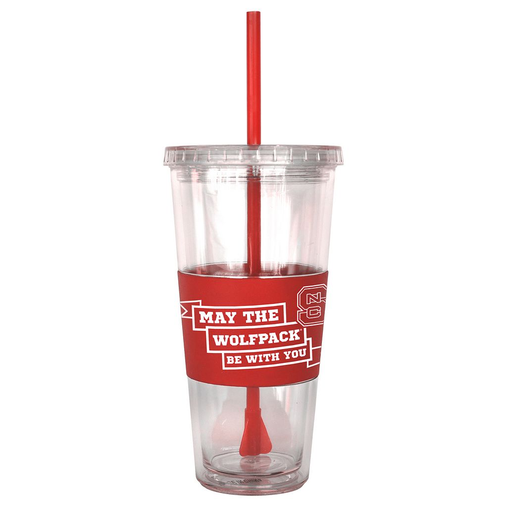 Boelter North Carolina State Wolfpack Star Wars Stormtrooper Straw Tumbler