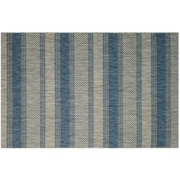 Safavieh Courtyard Tangier Stripe Indoor Outdoor Rug
