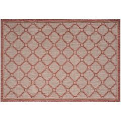 Safavieh Courtyard Palisade Trellis Indoor Outdoor Rug