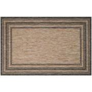 Safavieh Courtyard Kensington Framed Indoor Outdoor Rug