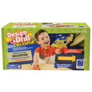 Educational Insights Design & Drill Power Play Vehicles Helicopter