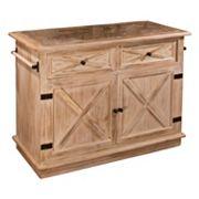 Hillsdale Furniture Carter Kitchen Island
