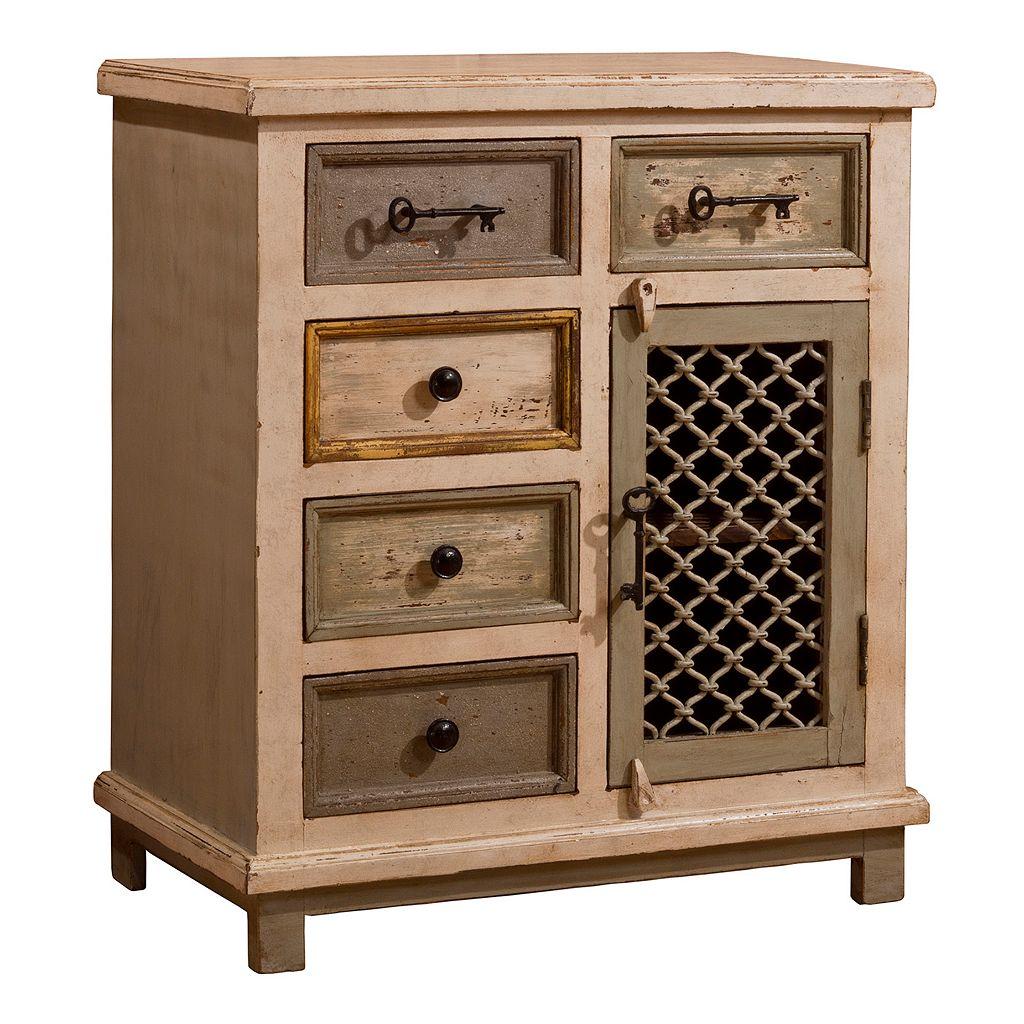 Hillsdale Furniture LaRose Chicken Wire Cabinet