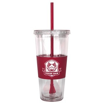 Boelter Texas A&M Aggies Star Wars Stormtrooper Straw Tumbler