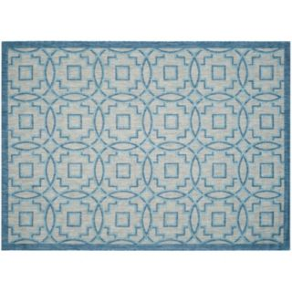 Safavieh Courtyard Metropolitan Geometric Indoor Outdoor Rug