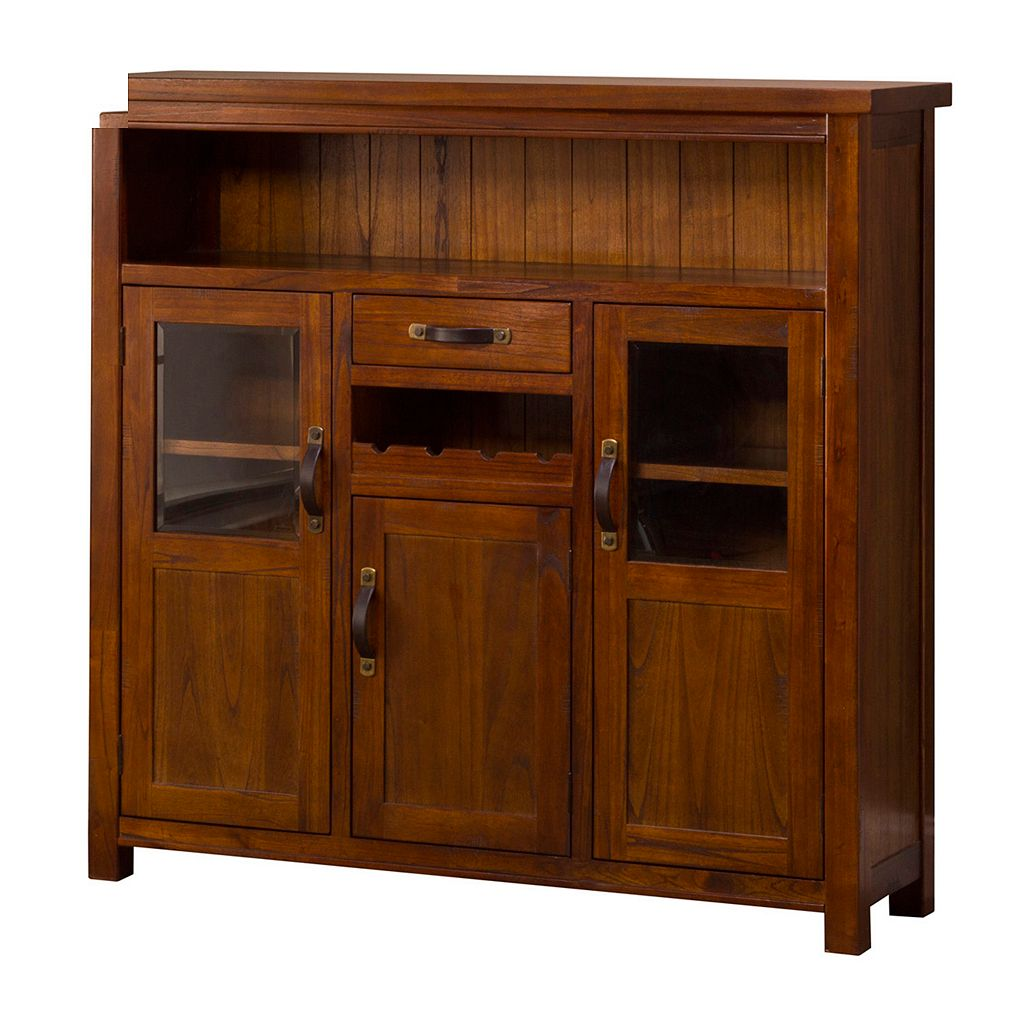 Hillsdale Furniture Outback Buffet Table & Wine Rack