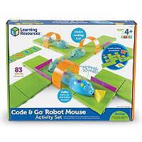 Learning Resources STEM Robot Mouse Coding Activity Set