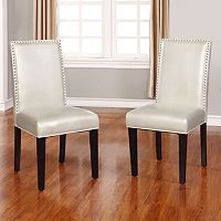 Linon Stewart Dining Chairs 2-piece Set