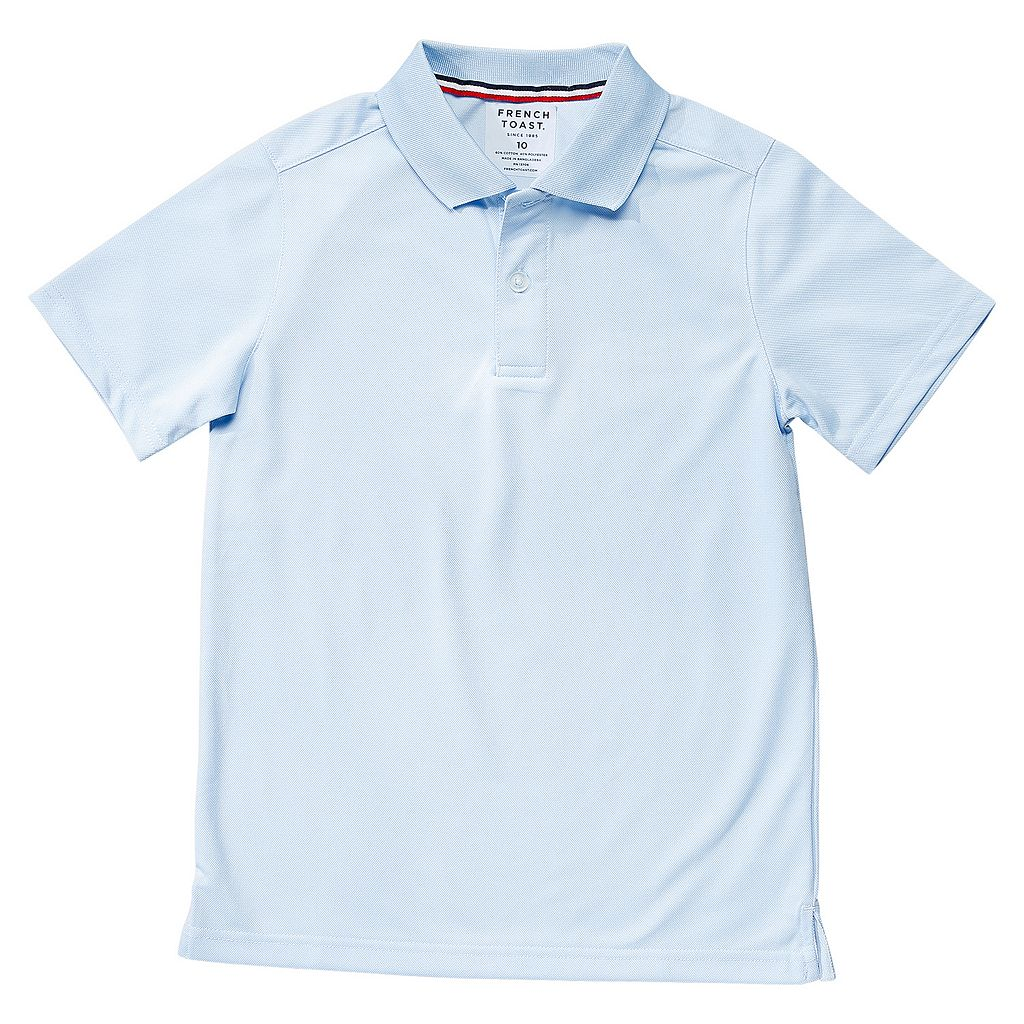 Boys 4-20 French Toast School Uniform Short-Sleeve Performance Polo