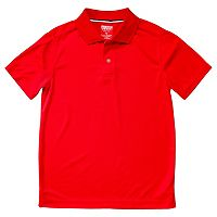 Boys 4-20 French Toast School Uniform Short-Sleeve Performance Polo