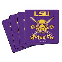 Boelter LSU Tigers Star Wars Stormtrooper 4-Pack Coasters