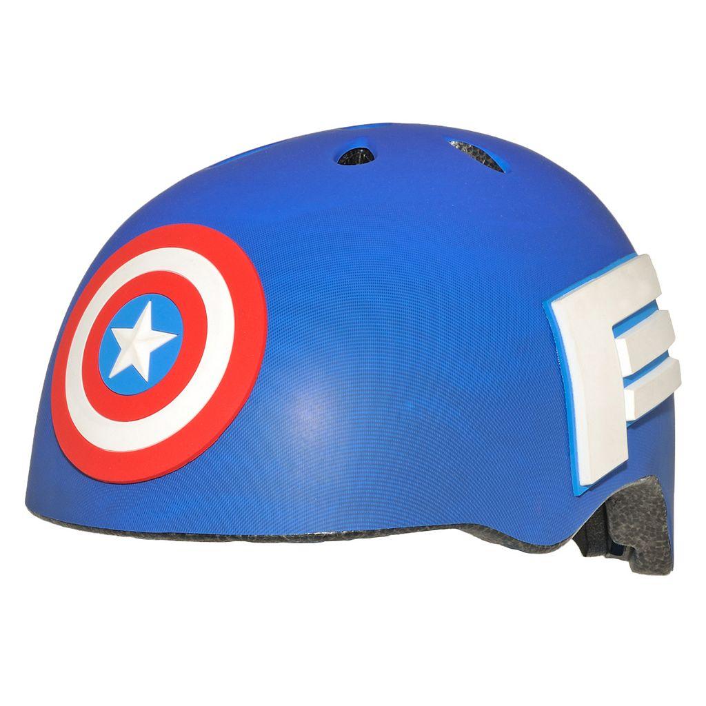 Youth C Preme Marvel Captain America Shield Bike Helmet