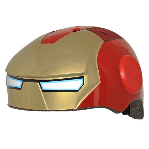 Youth C Preme Marvel Iron Man Bike Helmet