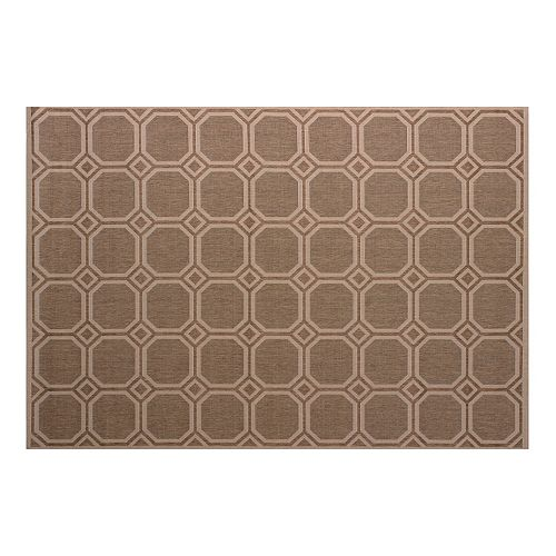 United Weavers Solarium Mosaic Lattice Indoor Outdoor Rug