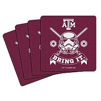 Boelter Texas A&M Aggies Star Wars Stormtrooper 4-Pack Coasters
