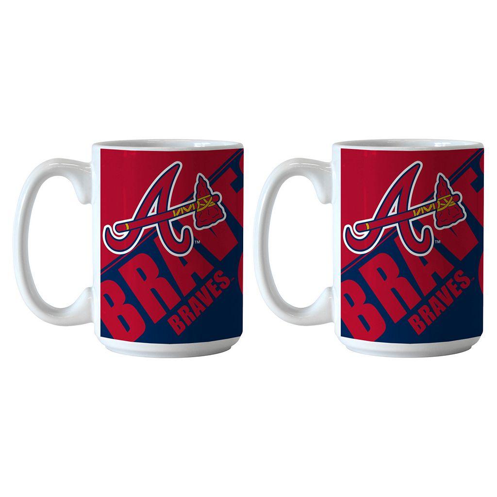 Boelter Atlanta Braves Star Wars Chewbacca 2-Pack Mugs
