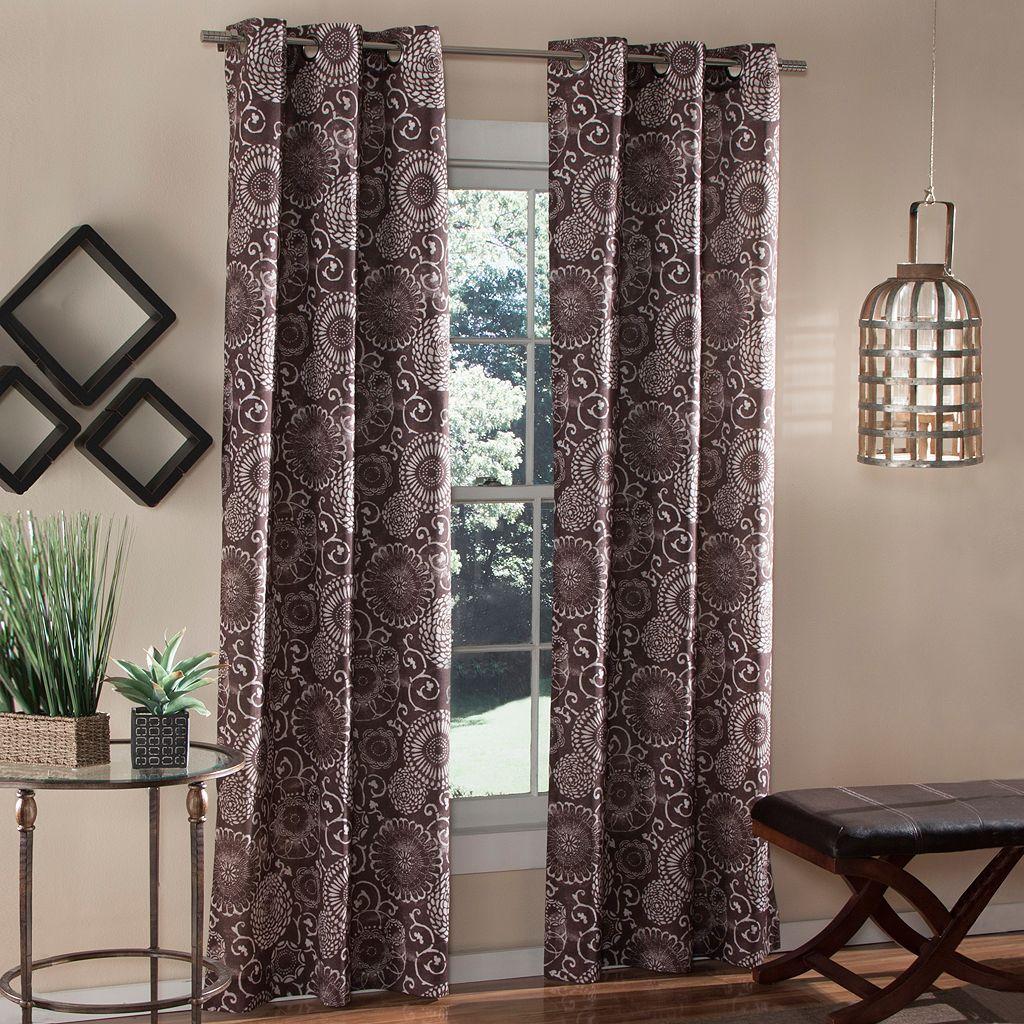 m.style 2-pack Batik Curtains
