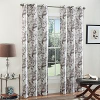 m.style 2-pack Batik Blossom Curtains