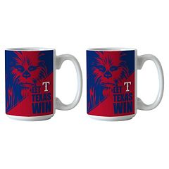 Boelter Texas Rangers Star Wars Chewbacca 2-Pack Mugs