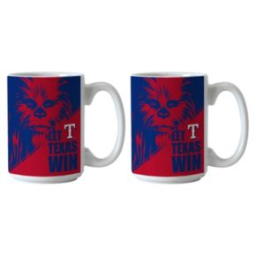 Boelter Texas Rangers Star Wars Chewbacca 2-Pack Mugs