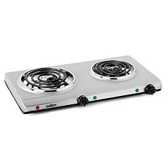 Salton Double Burner Portable Hot Plate