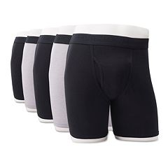 Men's Fruit of the Loom Signature Breathable 4-pack + 1 Bonus Boxer Briefs