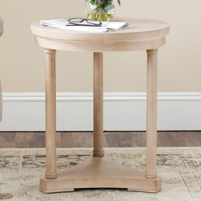 Safavieh Huxley End Table, Natural