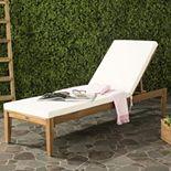 Safavieh Azusa Indoor / Outdoor Chaise Lounge Chair