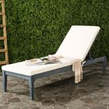 Safavieh Arcata Indoor / Outdoor Chaise Lounge Chair