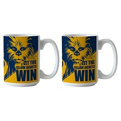 Boelter Georgia Tech Yellow Jackets Star Wars Chewbacca 2-Pack Mugs