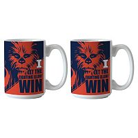 Boelter Illinois Fighting Illini Star Wars Chewbacca 2-Pack Mugs