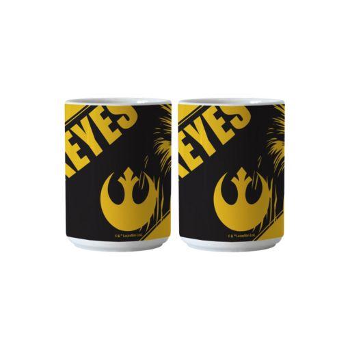 Boelter Iowa Hawkeyes Star Wars Chewbacca 2-Pack Mugs