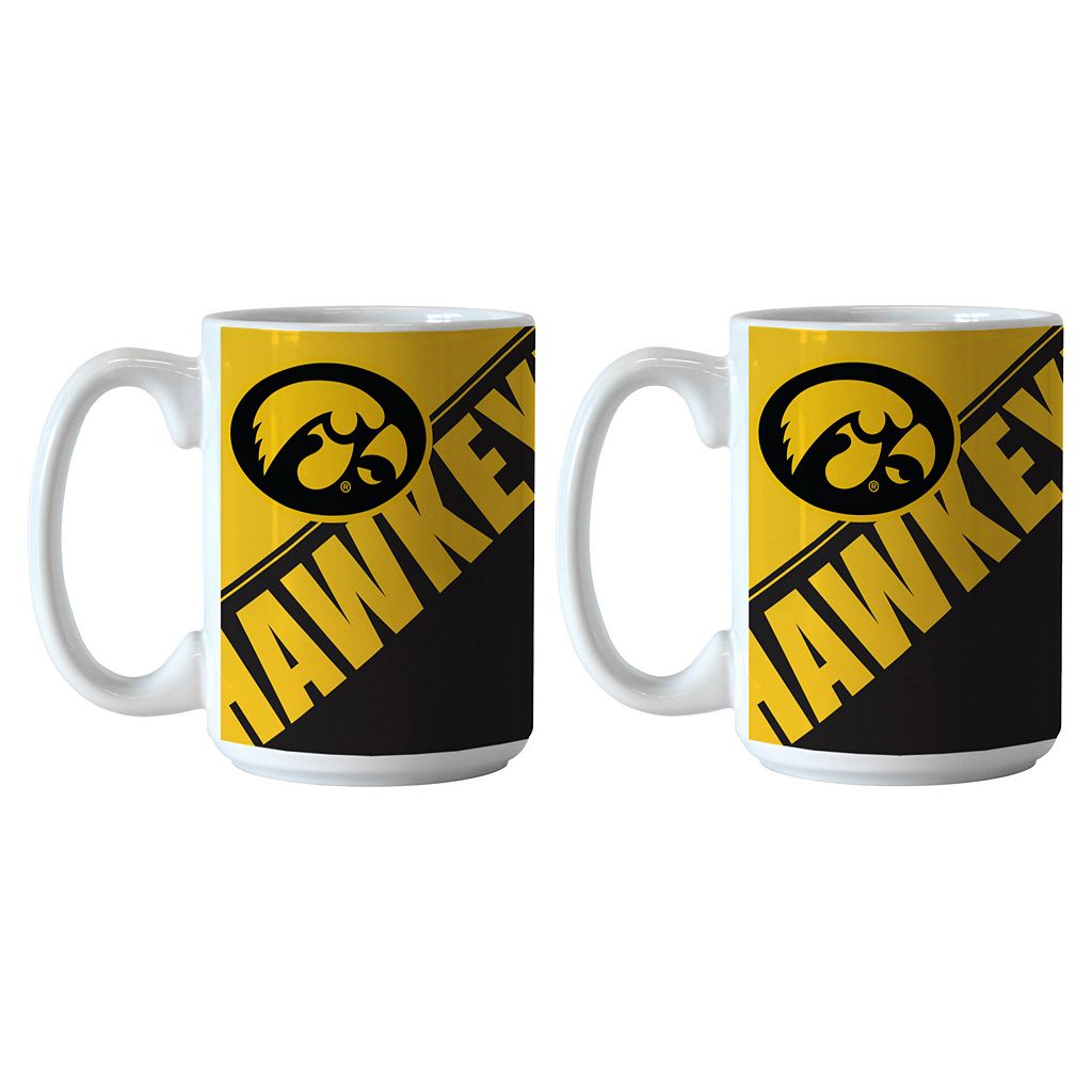 Boelter Iowa Hawkeyes Star Wars Chewbacca 2-Pack Mugs