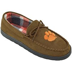 Men's Clemson Tigers Microsuede Moccasins