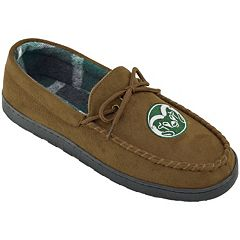 Men's Colorado State Rams Microsuede Moccasins
