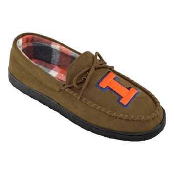 Men's Illinois Fighting Illini Microsuede Moccasins