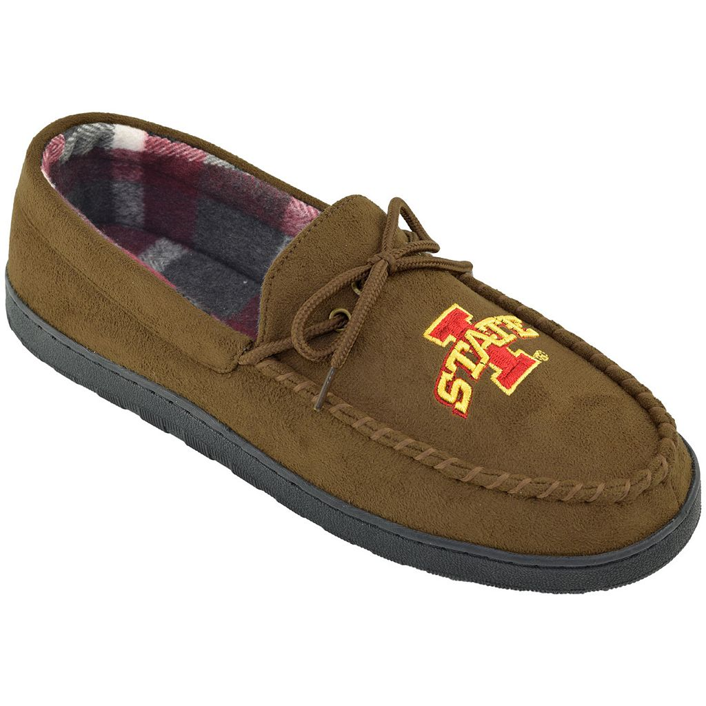 Men's Iowa State Cyclones Microsuede Moccasins
